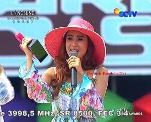 Pemenang Kategori Penyanyi Dangdut Wanita Paling INBOX Cita Citata