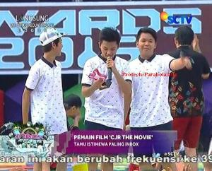 Pemenang Kategori Tamu Istimewa Paling INBOX Para Pemain CJR The Movie