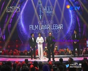 Pemenang Kategori Film Layar Lebar Paling Ngetop Marmut Merah Jambu