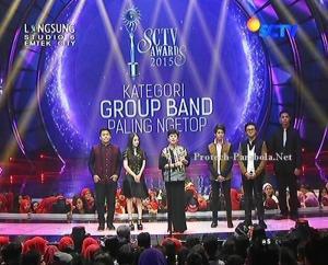 Pemenang Kategori Group Band Paling Ngetop Noah