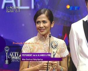 Pemenang Kategori Iklan Paling Ngetop Pepsodent versi Aliando dan Prilly
