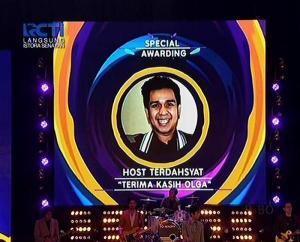 Special Awarding Host Terdahsyat Terima Kasih OLGA
